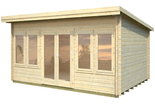 Casetas de madera para jard n trinity daype for Casetas almacenaje para jardin