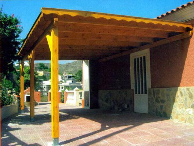 Porches y p rgolas daype - Porches de madera cerrados ...
