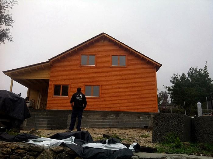 Proceso de montaje de italia daype - Casas de madera en portugal ...