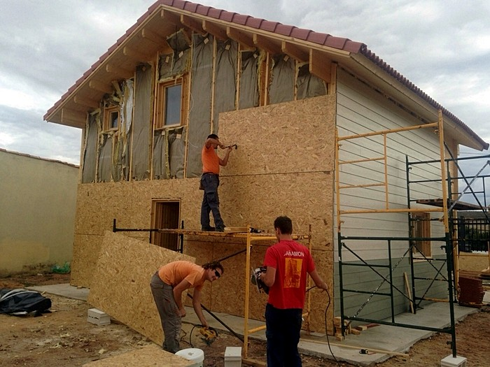 Proceso de montaje de marta aranda del duero burgos daype - Casas prefabricadas burgos ...