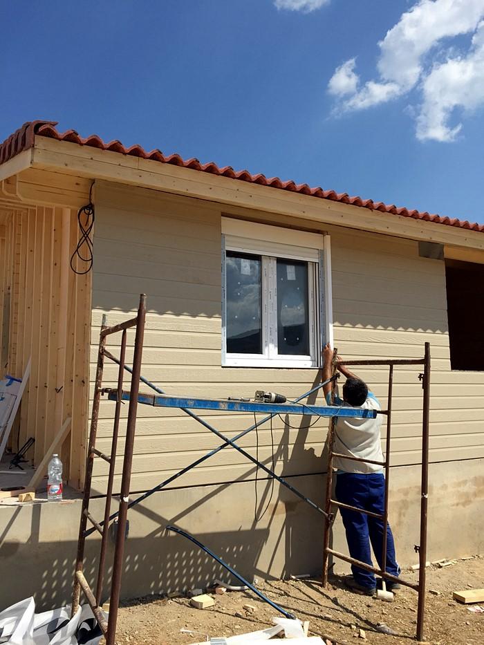 Proceso De Montaje De Estonia Salamanca Daype Casas Prefabricadas