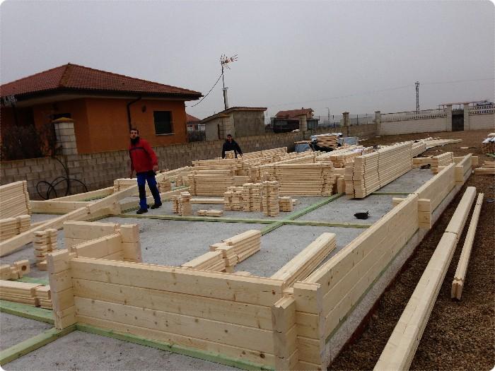 Proceso de montaje de fresno de la vega 122 m2 daype - Casas prefabricadas en tenerife ...