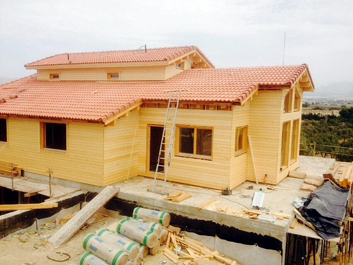 Proceso de montaje de Tropical casa de 115 m2 | DAYPE