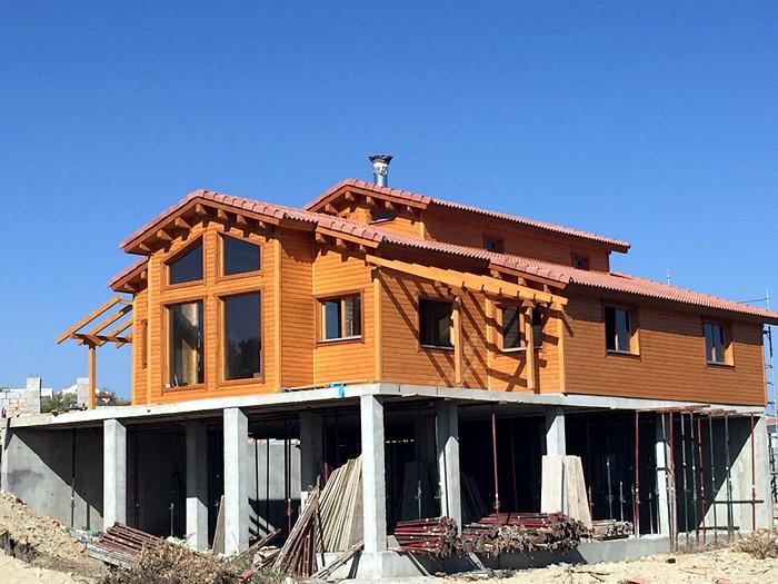 Proceso de montaje de tropical casa de 115 m2 daype - Montaje casa de madera ...